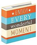 Walther Design ME-338-E Album ad Inserimento Moments Enjoy, Carta, Arancio, 13 x 18 cm