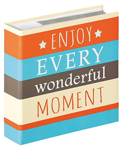 Walther Design ME-337-E Album ad Inserimento Moments Enjoy, Carta, Arancio, 10x15 cm