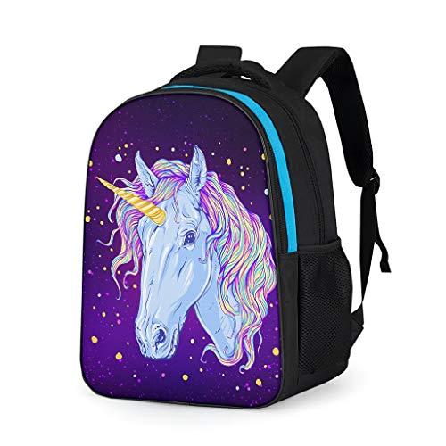Dogedou Unicorn Retro Vrijetijdsschool, rugzakken voor jongens en kinderen, camping, schooltas, pak voor op reis
