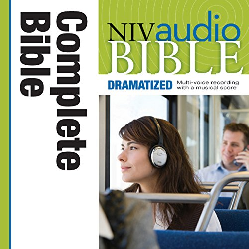 dramatized audio bible new international version niv complete bible audiobook cover art