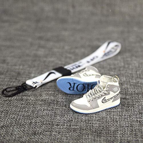 ahjs456 Anhänger Schlüsselkette Jordan AJ Schlüsselanhänger Modell Frau schöne Schuhe Schmuck Tasche Anhänger 5