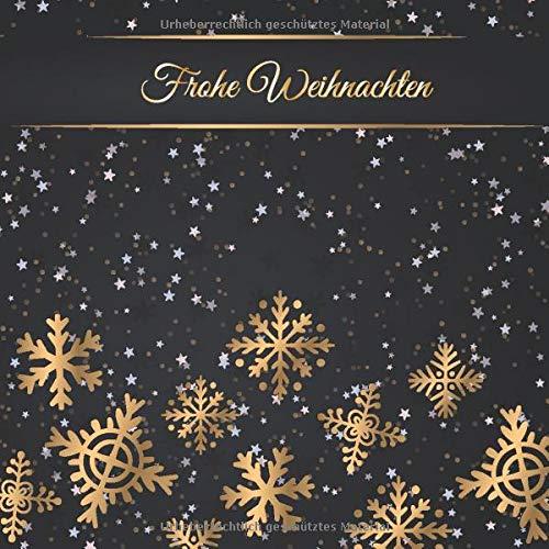 Frohe Weihnachten: Gästebuch für Weihnachten | Zum Ausfüllen, Eintragen der Glückwünsche | zum...