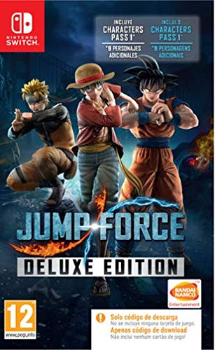 Jump Force Deluxe Code In The Box