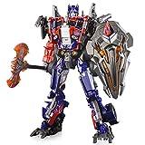 ZooYi Transformers Toys-Oversized Optimus Prime Alloy 11 Inch Optimus Prime Movie Figure