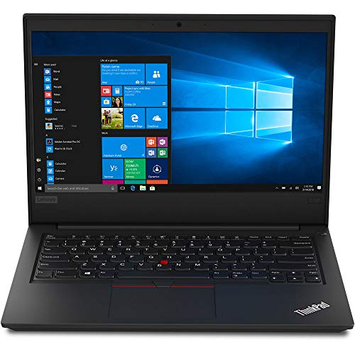 Lenovo ThinkPad E495 (20NE000JUK) 14' Full HD Laptop AMD Ryzen 5 3500U, 8GB RAM 256GB SSD Windows 10 Pro - Black