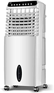 Aire Acondicionado Doméstico Ventilador Turbina Doble Conducto De Aire Centrífugo, Purificador De Iones Negativos, Humidificador De Aire Suministro De Aire De Gran Angular 10L Enfriador Por Evaporació