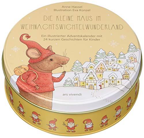 Die kleine Maus im Weihnachtswichtelwunderland - Adventskalender für Kinder ab 3 Jahren - 24 kurze Geschichten zum Lesen und Vorlesen