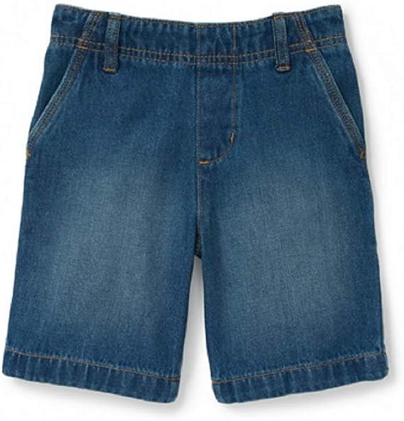 Garanimals Baby Boys Cargo Shorts w// Four Pockets Denim Cotton 12 18 Months