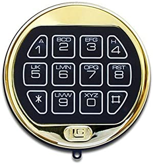 LaGard Basic II Brass Electronic Safe Lock Kit
