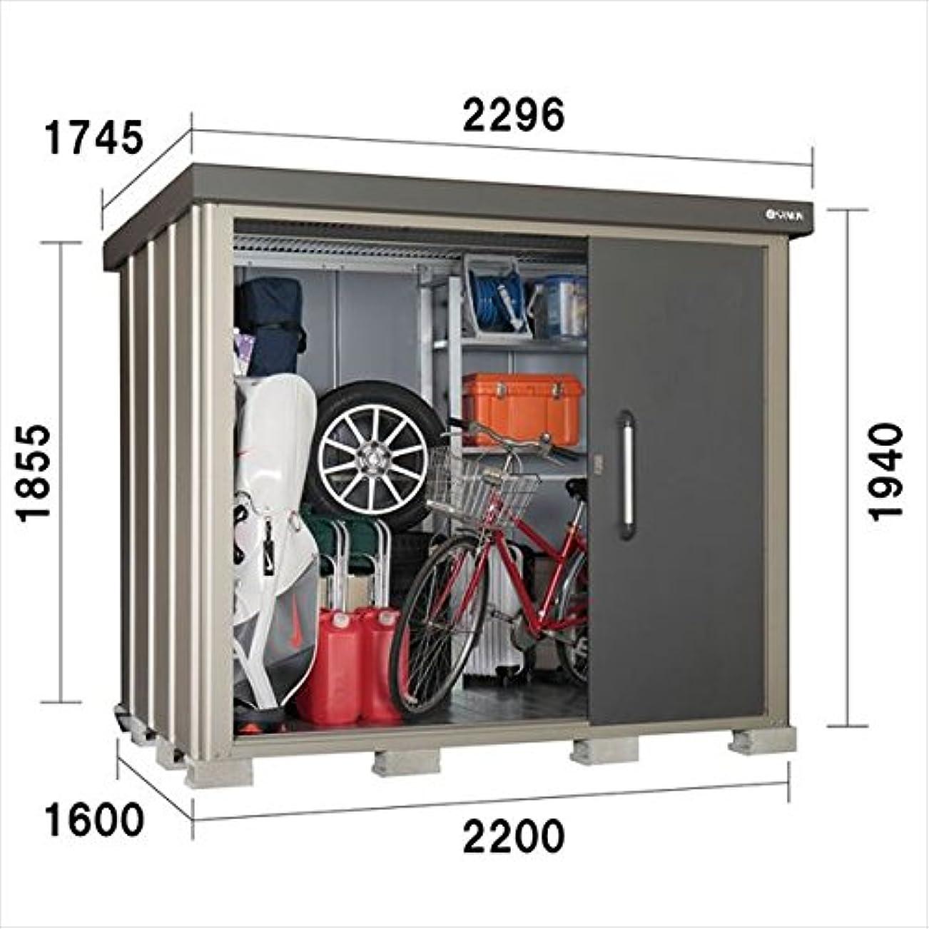 上昇虚弱組立サンキン物置 SK8 SK8-100 一般型 棚板棚支柱セット付 『中型?大型物置 屋外 DIY向け』 ギングロ
