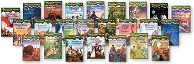 Magic Tree House Set (#13 - #24):day of the Dragon King, Viking Ships At Sunrise, and Hour of the Olympics, Revolutionary War (Tonight on the Titanic (#17), Buffalo Before Breakfast (#18), Tigers at Twilight (#19), Dingoes at Dinnertime (#20))