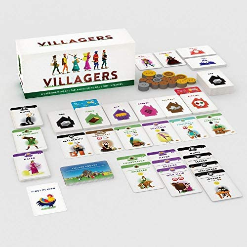 Sinister Fish Games SIF00030 Villagers Game product image