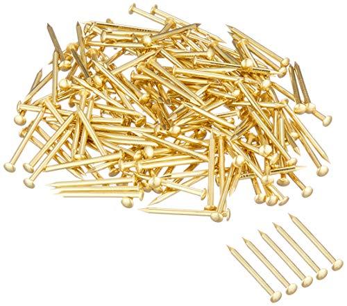 大里 真鍮釘 丸頭 #17×長さ19mm 250g 960本入 (HP-461)