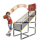 Arcade - Canasta de baloncesto para interior y exterior, con pelota y bomba
