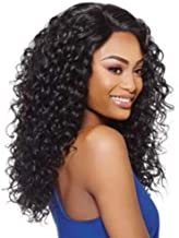 OUTRE Synthetic Hair Half Wig Quick Weave Amber 1b