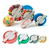 4pcs / Set Pompón Fabricante Pelusa Bola Tejedor De Bricolaje Knitting Tool Kit Craft