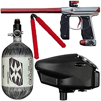 Action Village Empire Mini GS Competition Paintball Gun Package Kit w/Air Tank  Gun Color  Dust Grey/Dust Red Tank Size  68/4500