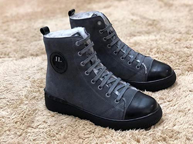 LOVDRAM Stövlar Människa skor, skor, skor, riktigt tjocka skor, varma skor Matte, tjock nederdel, Resistent, Non Slip skor Winter  märkeuttag
