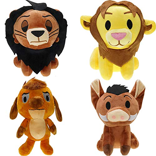 yskcsry Anime El Rey León Simba Pumba Muñecas De Peluche Suave Animales De Peluche Juguetes para Niños 20Cm