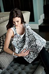 Nursing cover with a peak a boo top to check on bubs - Udder Cover