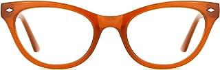 TIJN Super Inspired Mod Fashion Cat Eye Glasses Clear Color Translucent Eyewear Frame
