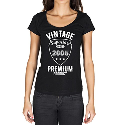 2006 Cumpleaños de 15 años, Vintage Superior, Camiseta Mujer, Camiseta años, Camiseta para Mujer