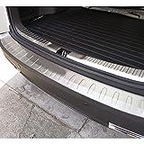 FASDTBA 2 Pcs Protector De Parachoques Trasero, para Honda CRV CR-V 2012-2016 Coche Acero Inoxidable Trasero Maletero Barra De Umbral Exterior Decorativas Accessories
