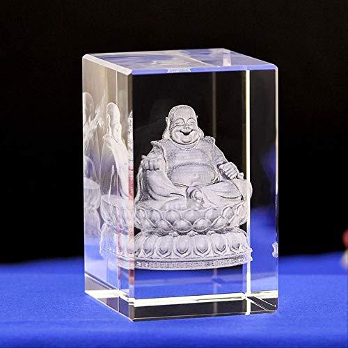 ZWWZ Kreative Kristallinnenschnitzereien der Milford-Kristall-Statue-Heimkunst-Dekoration MISU