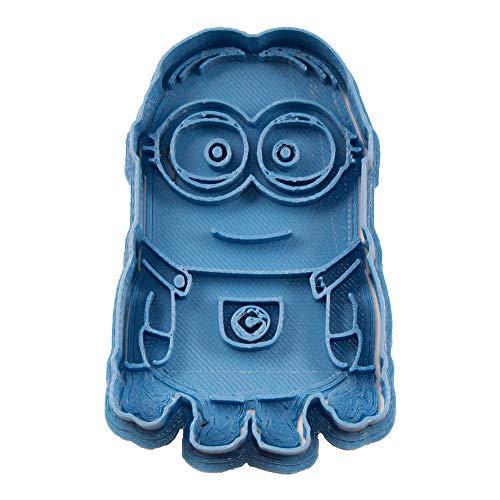 Cuticuter Kinder Minion Set Ausstechformen, Blau, 8x 7x 1.5cm, 2Stück