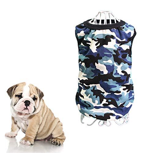 yinyinpu Ropa para Gatos Verano Verano Ropa para Perros Ropa para Perros Doggy Abrigos Abrigo de Perro Cachorro Ropa Bulldog Francés Ropa Vestido de Perro 4,XL