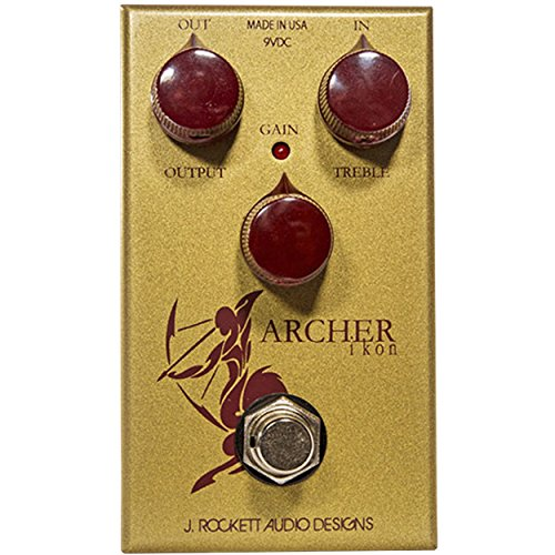J. Rockett Audio Designs Tour Series Archer IKON Overdrive and Boost Guitar Effects Pedal