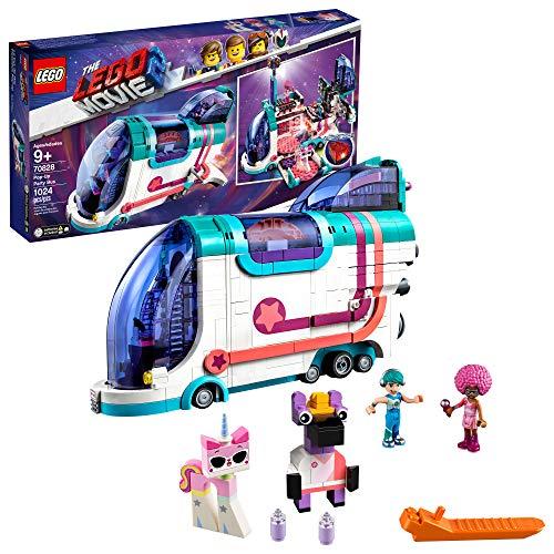 LEGO el bus 70828 kit de construcción película 2 grupo de pop-up, construir su propio juguete party bus multicolor
