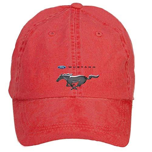Youaini ciyanccapp Unisex Ford Mustang Logo Baseball Caps Velcro Adjustable