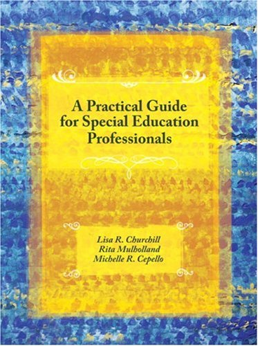 A Practical Guide For Special Education Professionals