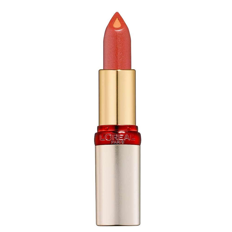 酔っ払い恥一掃するL'Oréal - Rouge à lèvres - Color Riche Innovation Action anti-age - N°S303 Pearly Praline