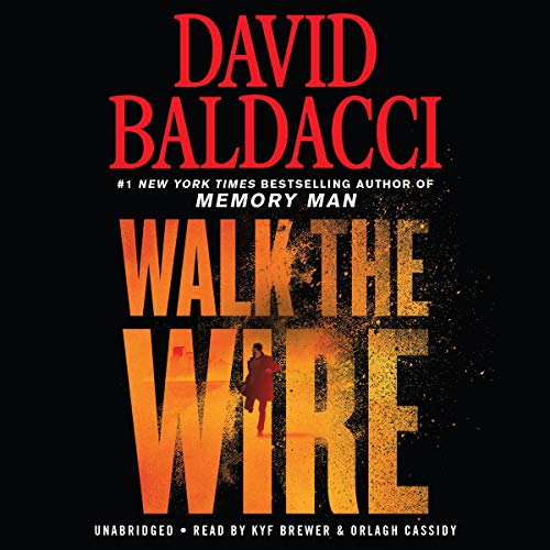 Walk the Wire audiobook cover art