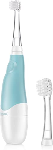 Papablic BabyHandy 2-Stage Sonic Electric Toothbrush for Babies and Toddlers Ages 0-3 Years