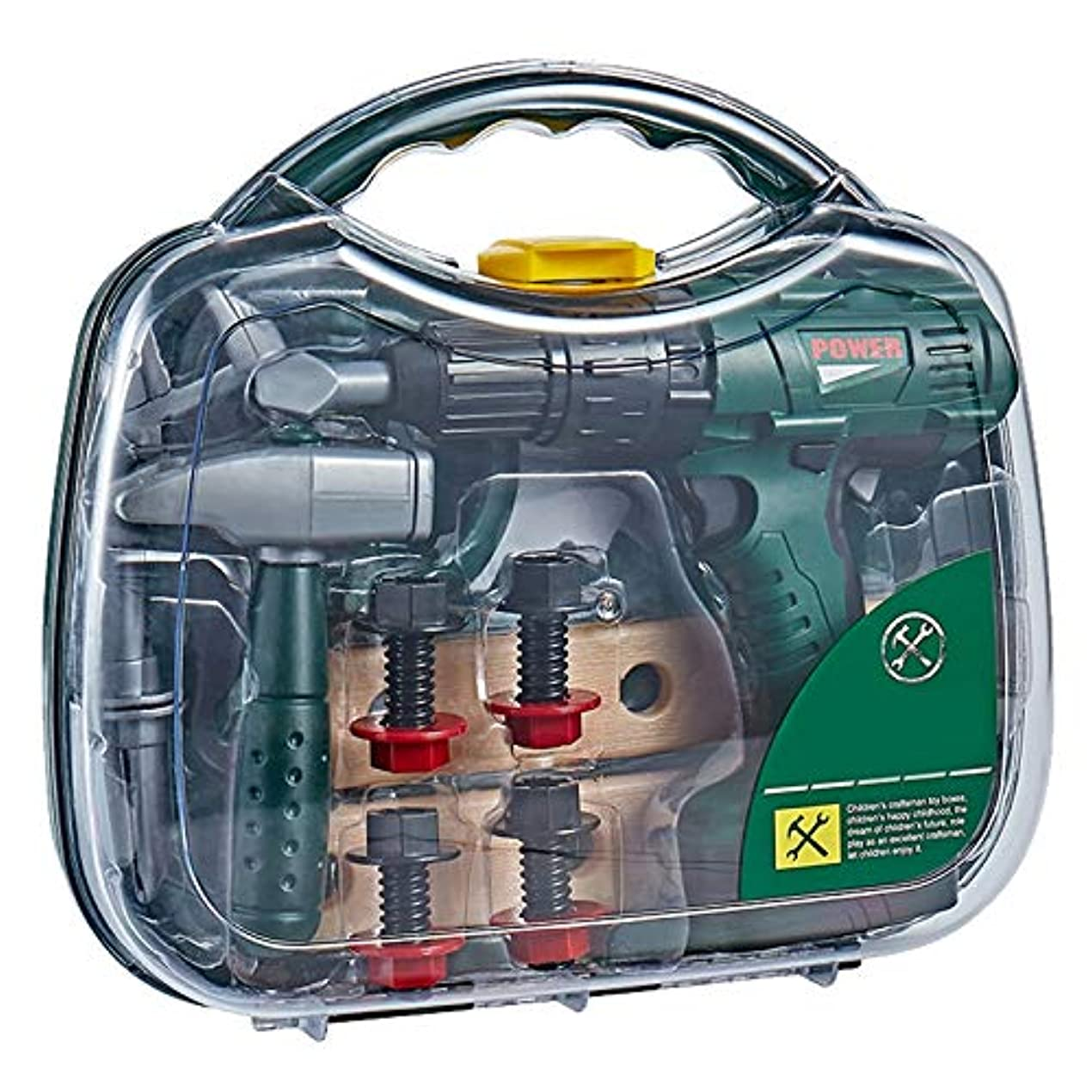 広告主野心ベリTimagebreze おもちゃ修理ツール おもちゃDIYプレイハウスシミュレーション電気メンテナンス教育玩具セット 子供および男の子用ギフトAS167986