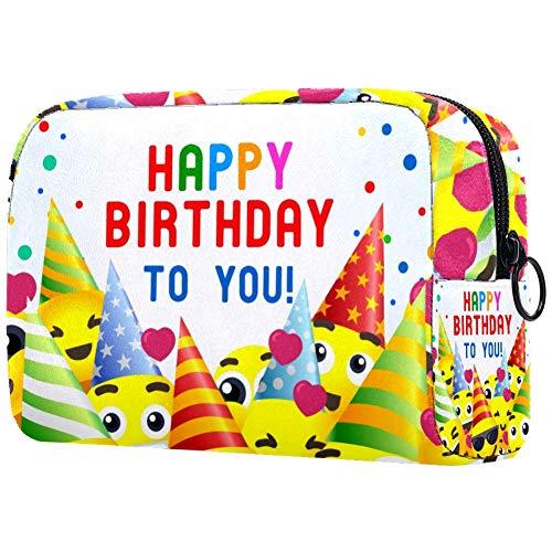 Bolsa de maquillaje personalizada para brochas de maquillaje, bolsas de aseo portátiles para mujeres, bolso cosmético, organizador de viaje, pancarta 3D para fiestas infantiles