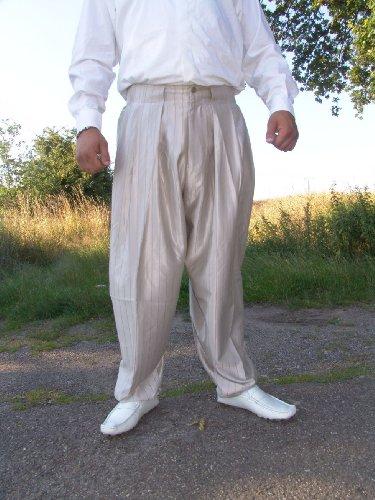 Il Padrino Moda Luxus Mafia Hose - Deluxe Brwn - Boogie Swing, 62