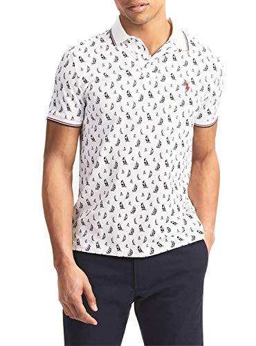 Polo Ralph Lauren Herren Poloshirt Gr. L, weiß
