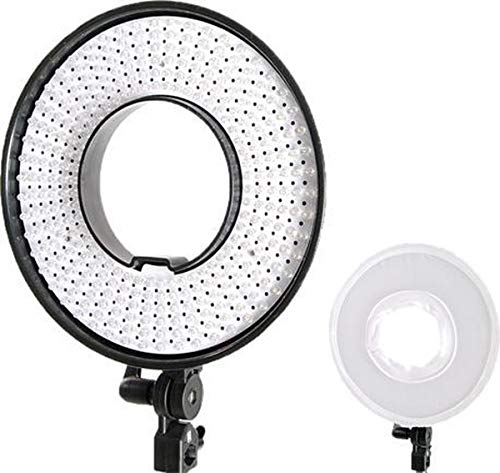 Falcon Eyes LED ringlamp dimbaar DVR-300DVC naar 230V