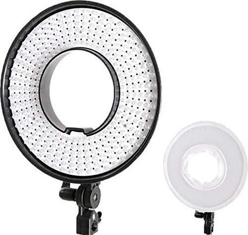 Falcon Eyes LED Circular lámpara de Intensidad Regulable DVR-300DVC en 230 V