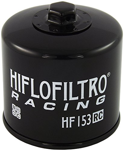 Hiflofiltro HF153RC Black Single Oil Filters