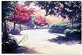 DINGDONG ART Lienzos De Fotos 40x60cm Sin Marco Póster de Anime, póster de El Viaje de Chihiro, Arte Decorativo para Pared, Carteles para Sala de Estar, Dormitorio