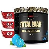 Redcon1 - Total War - Preworkout - All New (15 Servings) Boost Energy, Increased Lasting Endurance, Citrulline Malate, Beta-Alanine, Keto Friendly, (Blue Lemonade)