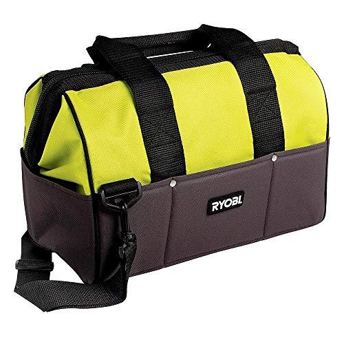 Ryobi 5132002553 Nylon Werkzeugtasche mittel Typ UTB4 Grau, Gelb