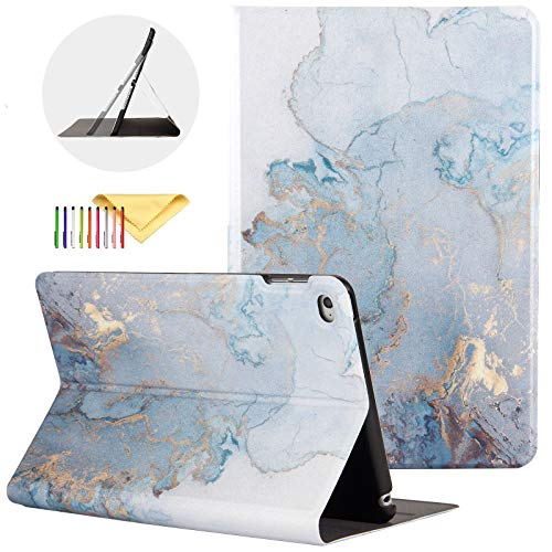 iPad Mini 5 Case 2019, iPad Mini 4 Case, Uliking [Marble Map Series] PU Leather Shockproof Shell Stand Smart Cover with Auto Wake/Sleep for Apple iPad Mini 5th/4th Gen 7.9' Tablet, Gold Map
