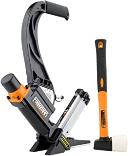Freeman Pneumatics P50LSLW 2-in-1 Light Weight Flooring Nailer and Stapler