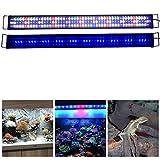 Aquarien ECO Rampe LED Aquarium 120CM Blanc Bleu...